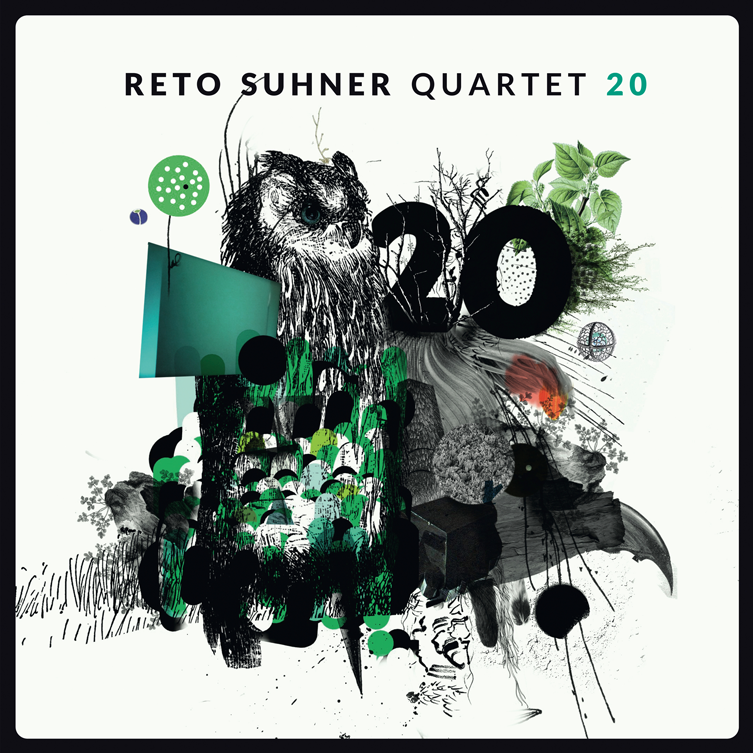 Reto Suhner Quartet 20 Cover